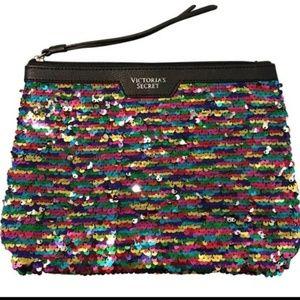 Brand new Victoria's Secret wristlet mini tote bag